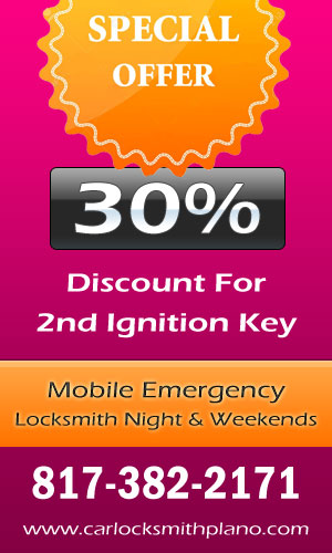 Car Locksmith Plano Coupon